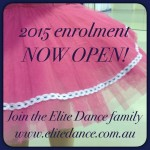 Enrolment Elite Dance