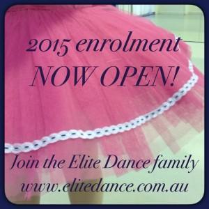 Enrolment Elite Dance
